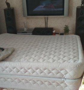 Кровать надувная ПВХ Intex двуспальная