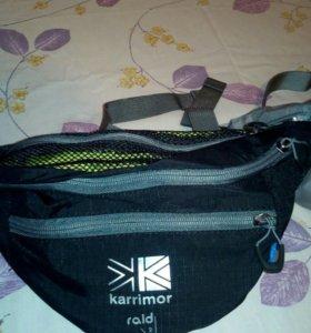 Спортивные напоясные сумки.Mammut и Karrimor.
