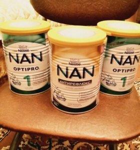 Детское питание Nan антирефлюкс