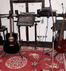 Аппаратура в аренду, музыкальное сопровождение
