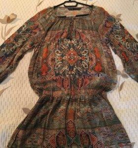 Платье-туника фирмы Zara
