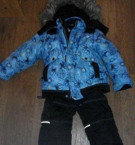 Продам комплект зима на мальчика 104