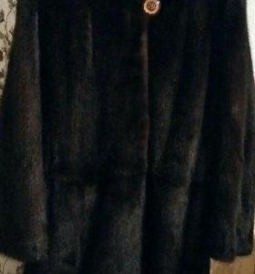Норковая шуба, размер -44-46
