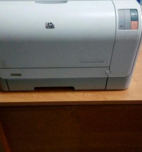 Цветной принтер HP и картриджи
