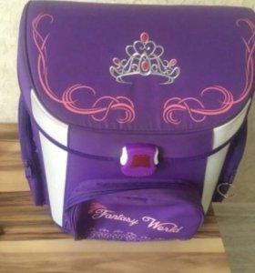 Детский школьный рюкзак для девочки ортопедический