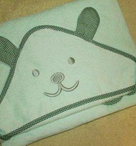 Махровое полотенце с капюшоном
