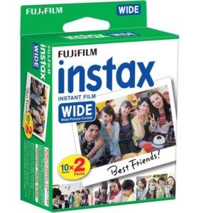 Кассеты Fujifilm Instax Wide 210 300 Lomo Wide