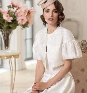 Свадебное платье с жакетом от Татьяны Каплун