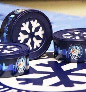 Ароматизатор гелевый в банке с эмблемой ХК «Сибирь