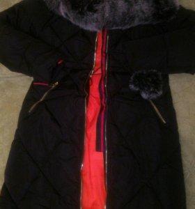Пальто зимнее M