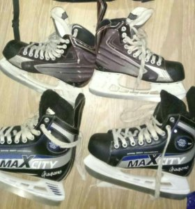 Коньки хоккейные(41 размер)