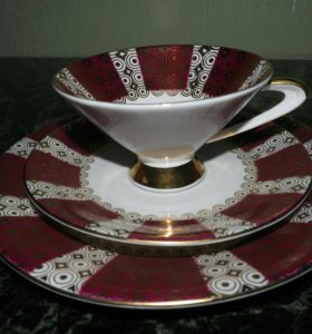 Чайная троечка (фарфор)