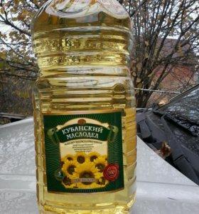 Масло подсолнечное 5 л.