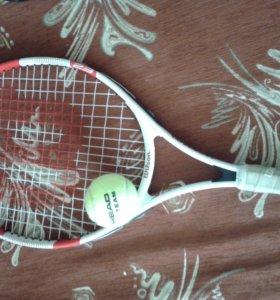 Теннисная ракетка,детская