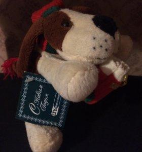 Собачка- сувенир к новому году