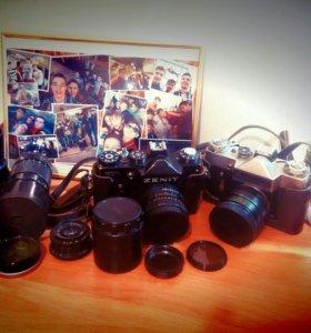 Фотоаппарат Zenit и объективы к нему
