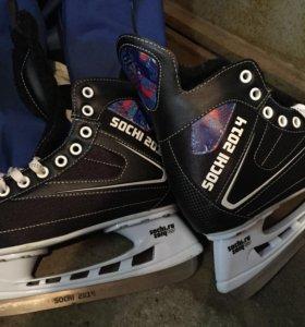 Коньки хоккейные ф.Sochi 2014 размер 40