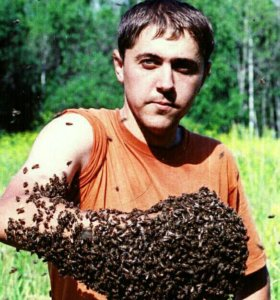 Свежий Мёд с медогонки!