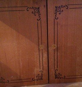 Шкафчик кухонный с сушилкой