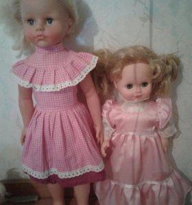 Куклы 57 и 43см