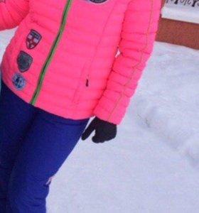 Зимний костюм и лыжная куртка