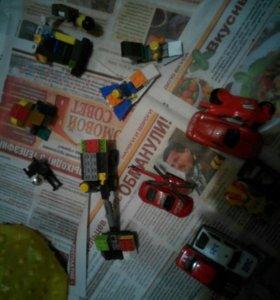 Машины и лего