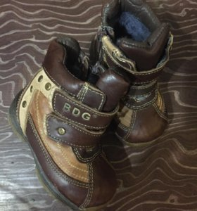 Ботинки23 размер кожа