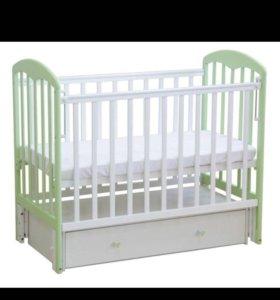 Кровать детская фея с матрасом
