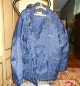 Куртка теплая мужская большой размер