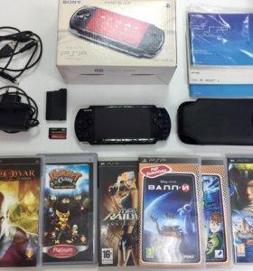 Sony PSP 3008 Slim(40 игр,16 Gb,комплект)