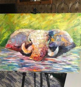 Картина «Слон»