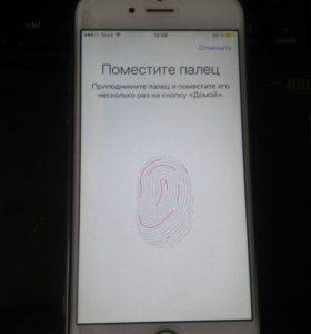 iPhone 6 64gb silver с touch id