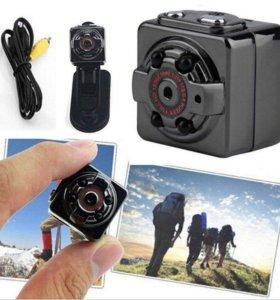 Мини камера SQ8 FHD1080p с ночной подсветкой!