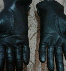 Перчатки кожа натур