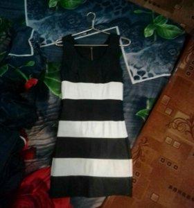 Кожанное платье.