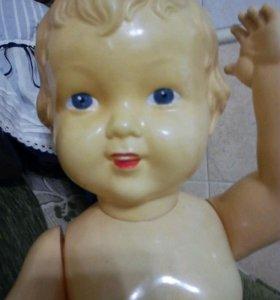 Кукла СССР, целлулоид 55см