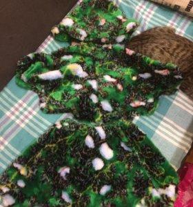 Новогодние костюмы кот, елка, обезьянка