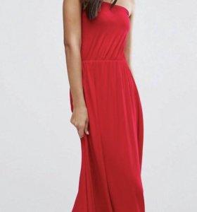 Новое красное платье.