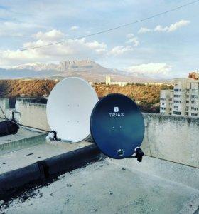 Спутниковое тв и видеонаблюдение