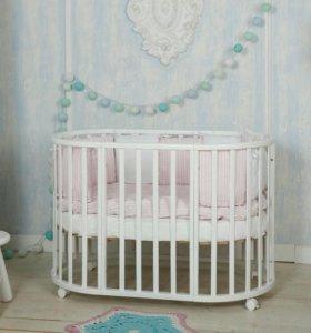 Кроватка трансформер Incanto Mimi 7в1