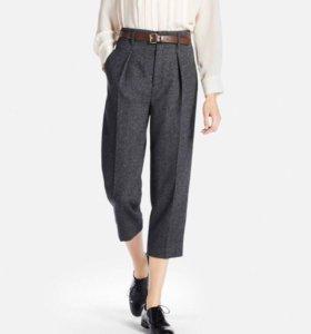Шерстяные брюки uniqlo