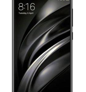 Xiaomi Mi6 6/64 Black Черный Новый