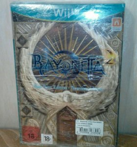 Bayonetta 2 First Print Ed.+карты таро (новое)