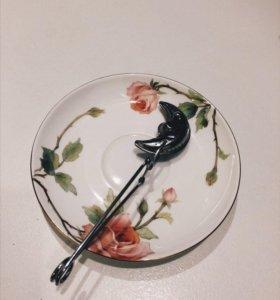 В дар. Креативная ложечка для заварки чая