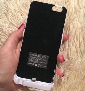 Чехол-аккумулятор на iPhone6/6s