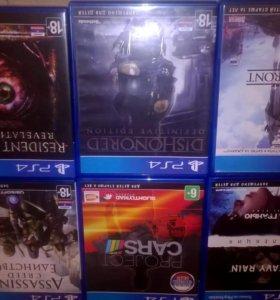 Игры для ps4 Dishonored resident evil ...