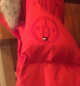 Зимняя куртка tommy hilfinger