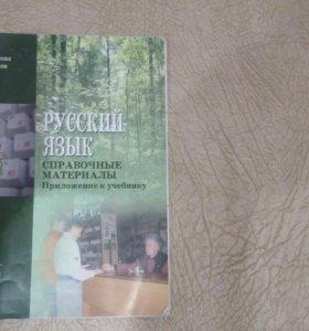 справочные материалы к учебнику русского 5 класс