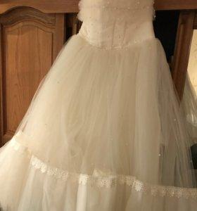 Платье 38 размер, супер шикарное, новое.
