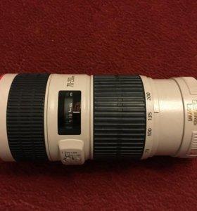 Телеобъектив Canon EF 70-200mm f/4L IS USM